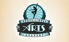 Fun logo design for a Long Island, NY based dance and arts school. The arts lettering was built from scratch.