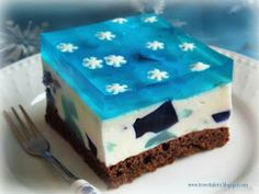 Ciasto Frozen - Kraina Lodu Frozen, Elsa, Food, Places, Baby, Bakken, Essen, Meals, Baby Humor