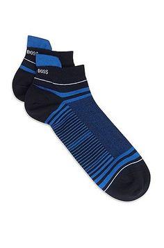 Towel Bottom Basketball Socks Medium-Length Sports Socks L Code Blue Black Black Green White 4Pair