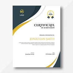achievement,appreciation,award,certificate,diploma,frame,graduate,graduation,success,template,vertical,grey,gold,blue Grey And Gold, Dark Grey, Certificate Design Template, Shadow Frame, Abstract Waves, Abstract Styles, Company Names, Original Artwork, Backgrounds