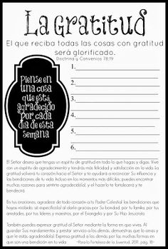 The Things I Love: October Young Women / Young Men Handouts - Becoming More Christlike {English and Spanish}