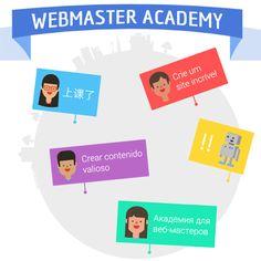 Webmaster Academy international logo