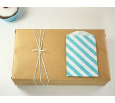 Slip a label tag inside a small bag or library envelope.