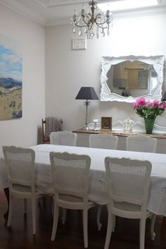 french dining room Lilyfield Life painted furniture in sydney
