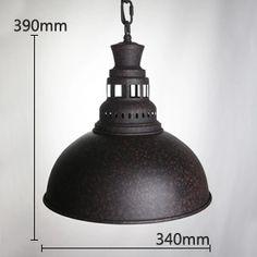 【KC燈具】loft工業倉庫吊燈複古風咖啡廳酒吧吧台喇叭創意吊燈-淘寶網