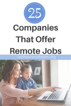 There are many companies, including Fortune that offer telecommuting positions. Check out this list of 25 companies that offer work at home jobs so you can be a work at home mom like you've dreamed of! Home Based Business Opportunities, Work Opportunities, Parenting Memes, Parenting Advice, Development Milestones, All Family, Happy Family, Gentle Parenting, Mom Advice