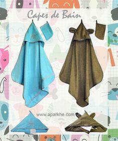 #Naissance #Baby #Doux #Cape de Bain (Grande) #Eponge # C'est un Garçon !!! #Cadeau :-) #Utile :-) #Pratique :-)
