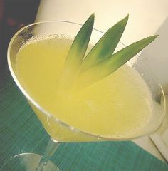 coconut lemon martini!