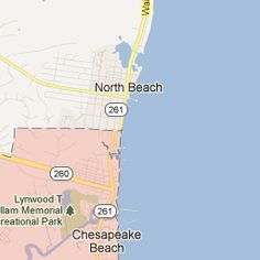 Chesapeake Beach, MD: A nice little beach to take kids to, and under an hour to get there. No waves and sand to play with. There is a fee to use the beach - we prefer North Beach as there are bathrooms and changing areas included in the fee.