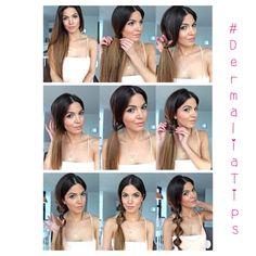 #hair #hairstyle #instahair #hairdo #fashion #instafashion #straighthair #longhair #style #hairoftheday #hairideas #hairfashion #hairofinstagram #coolhair #ilovedermalia #dermaliatips #tubellezanuestraespecialidad