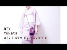 DIY Yukata (Kimono) with sewing machine / Sewing Tutorialㅣmadebyaya - YouTube