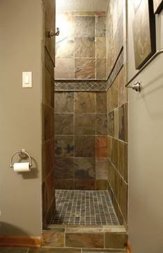 Small Bathroom No Shower Door accessible shower | open showers, app and doors