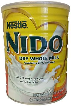 Nestle Nido Milk Powder Europe Imported Pound) * For more information, visit image link. Cupcake Supplies, Baking Supplies, Gourmet Recipes, Snack Recipes, Healthy Recipes, Soya Drink, Whole Milk Powder, Powdered Milk, How To Make Bread