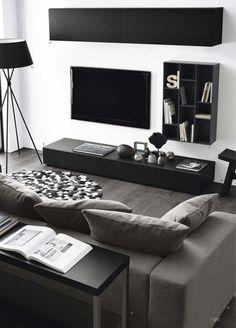 Ideas living room white cozy interior design for 2019