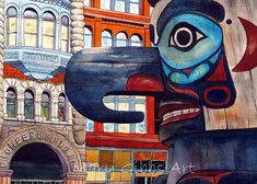 Mary Gibbs - Pioneer Square Totem