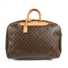 b3eb0fb1b6d6 Leather travel bag Louis Vuitton Brown in Leather - 6640442