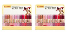 Burts Bees - Lip Color 96 Piece Lip Shimmer Display OC 2 PACK Exp.4.19 SD