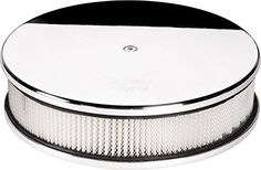 """NEW BILLET SPECIALTIES POLISHED ALUMINUM, MEDIUM ROUND AIR CLEANER ASSEMBLY, 10"""" DIAMETER X 3"""" TALL WITH K&N LIFETIME FILTER ELEMENT & STAINLESS STEEL HARDWARE Southwest Speed http://www.amazon.com/dp/B00PCPKFT4/ref=cm_sw_r_pi_dp_pZ3wvb1BRFZCA"""