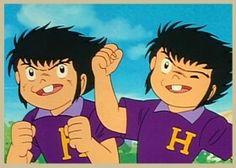 Los hermanos Derrick / Campeones: Oliver y Benji / Supercampeones / Captain Tsubasa