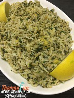 Week 36 – Greek Spinach Rice (Spanakorizo)