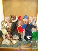 A good set of Victorian Punch and Judy puppets lothttp://www.bonhams.com
