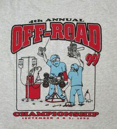 Car Surgery Off-Road Championship Hawaii 1999 T-shirt L New #HanesHeavyweight #TShirt