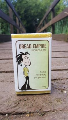 Dread Empire - Dreadlocks Shampoo Bar. The #DreadEmpire #ShampooBar controls oil and leaves your hair free from residue to assist the locking process. Enriched with essential oils to help #Eliminatedandruff and #Relieveitchyscalp conditions. This shampoo is also free from Lauryl Sulphates. #DreadLab #Dreadlockcare