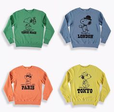 c948b1e4bd18f 2017 - TSPTR x Peanuts City Pack - Peanuts Spruce Mayo Reproduction  sweatshirts in original…""