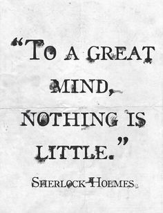 Sherlock Quote