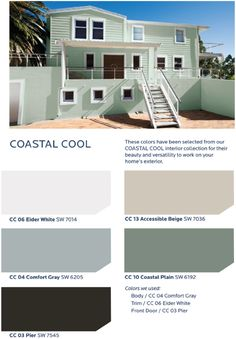 Live and breathe inspiration from the sand, salt and sea with the HGTV HOME™ by Sherwin-Williams Coastal Cool Collection.