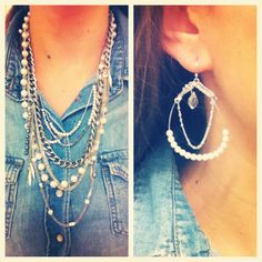Love these pearl pieces from Capwell and Co