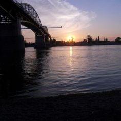 Maria-Valeria bridge, Duna river in Esztergom