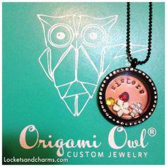 #sisterlocket makes a #perfectgift from @Jennylou & Sergio Raya, ID#1186 from #OrigamiOwl - Fundraiser Locket Creations - Origami Owl Jewelry ID 1186