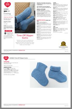 Easy Baby Knitting Patterns, Knitted Socks Free Pattern, Baby Booties Knitting Pattern, Crochet Slipper Pattern, Knitting Paterns, Crochet Socks, Baby Hats Knitting, Knitted Slippers, Knit Or Crochet