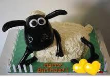 Shaun the Sheep cake. Beautiful Birthday Cakes, Beautiful Cakes, Amazing Cakes, Shaun The Sheep Cake, Funny Birthday Cakes, Birthday Ideas, Birthday Images, 2nd Birthday, Juegos Baby