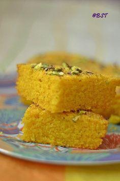 Semolina Mango Cake