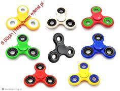 Plastikowy kolorowy spinner 6.50