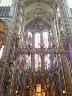 Katholiek gotische kerk Amsterdam
