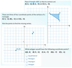 In this freebie students graph points to form letters they plot the activity polygons in the coordinate plane is a dynamic activity in which students drag points ccuart Image collections