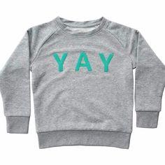 YAY sweater Tutti Green                         – De Gele Flamingo