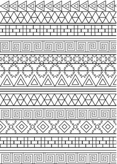 Adult Coloring (Doodles) on Behance Zentangle Drawings, Zentangle Patterns, Doodle Drawings, Doodle Coloring, Mandala Coloring, Adult Coloring, Pattern Coloring Pages, Coloring Book Pages, Creative Arts Therapy