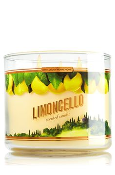 Limoncello 3-Wick Candle - Home Fragrance - Bath & Body Works
