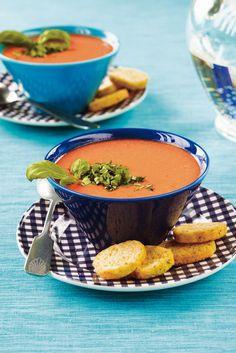 Tomaatti-vuohenjuustokeitto | Keitot | Pirkka