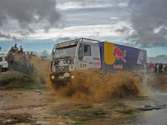 Man Red Bull Dakar