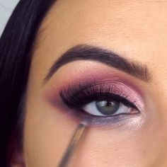 15 beautiful makeup looks for blue eyes (I have green eyes, but that's a good one… - makeup secrets - Make-Up Makeup Eye Looks, Eye Makeup Steps, Beautiful Eye Makeup, Smokey Eye Makeup, Skin Makeup, Eyeshadow Makeup, Beauty Makeup, Amazing Makeup, Easy Eye Makeup