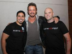 David Lyons at the Austin Webfest Launch party. 2013 December 5 via @atxwebfest