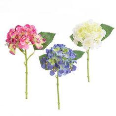 Pillow Talk offers a wide range of stunning artificial flowers & décor online now. Flowers Online, Pillow Talk, Artificial Flowers, Hydrangea, Bedroom Ideas, Glass Vase, Pillows, Mini, Color