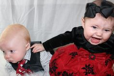 Funny baby fit picture