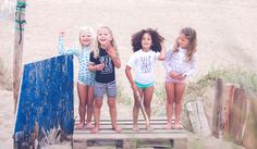 Go now, run wild, barefoot & free! We love it when your little bandits would rather be outside than in, keep them sunsafe with our cool range of UPF50+ threads! Soon available on www.beachandbandits.com