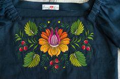 Вишиванка. Embroidered blouse #garnokvit